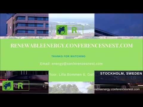 Renewable Energy Conference Stockholm | 2018 June 25 - 27 | Sweden | Europe