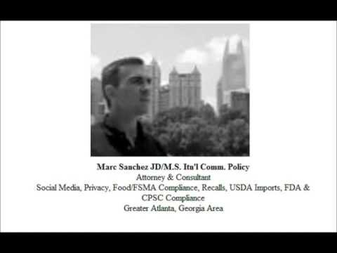 The New FSMA Regulations with Marc Sanchez, JD-MA