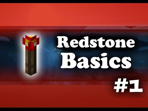 MCPE Redstone Tutorials - #1 Beginner Basics
