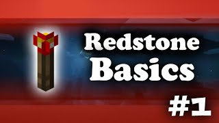 MCPE Redstone Tutorials - #1 Beginner Basics