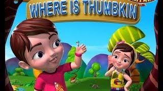 Where is Thumbkin? Nursery Rhyme 3D Animated