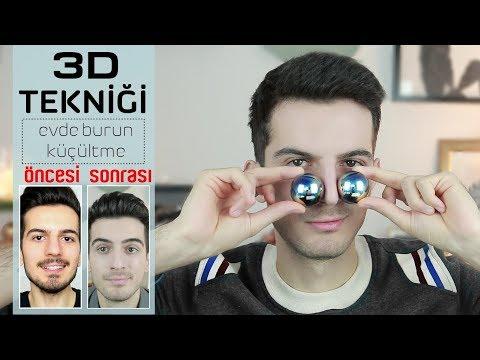 Evde Burun Küçültme - 3D TEKNİĞİ │ Aras Barlas