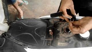 Cara Memeriksa Amper Minyak Motor Honda Beat Matic Yang Tidak Berfungsi