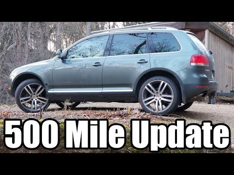 V10 TDI Touareg 500 mile Update
