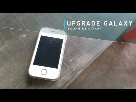 Cara Upgrade Versi Android Samsung Galaxy Young S5360 Menjadi Kitkat 4.4.3.