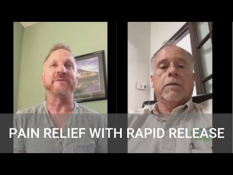 #179 Pain Relief with Rapid Release with Dr. Stanley Stanbridge and Jeff Maier