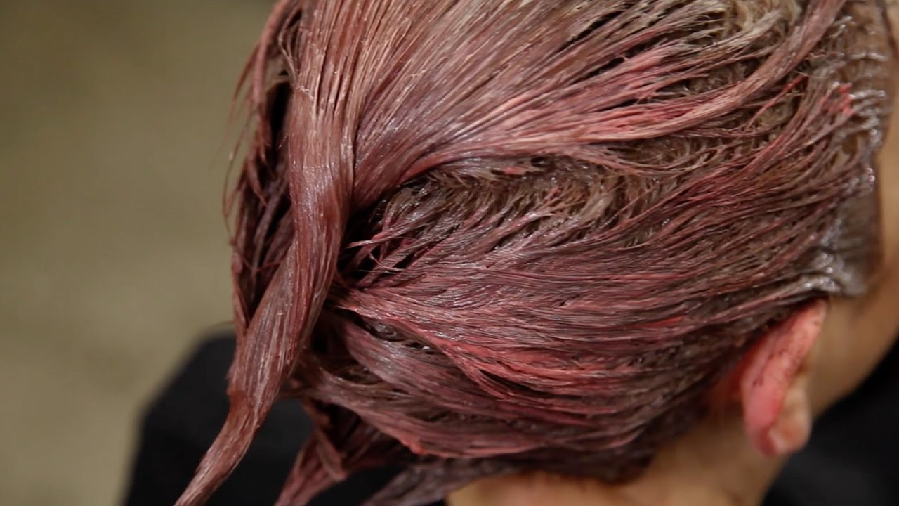 Rose Copper Hair Color Tutorial Youtube