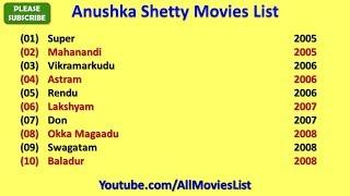 Anushka Shetty Movies List