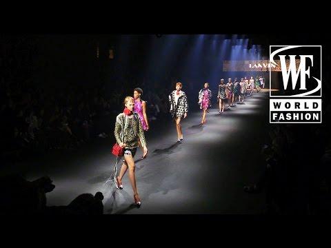 Front Row Lanvin Spring-Summer 2016 Paris Fashion Week
