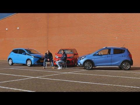 ANWB Triotest Kia Picanto vs. Opel Karl Rocks vs. Toyota Aygo 2017