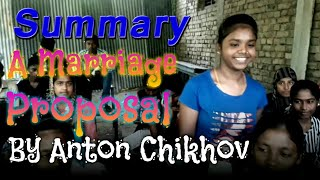 SUMMARY #A Marriage Proposal