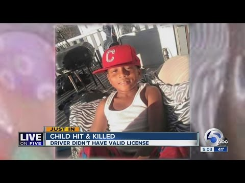 Update: 9-year-old hit by truck in East Cleveland