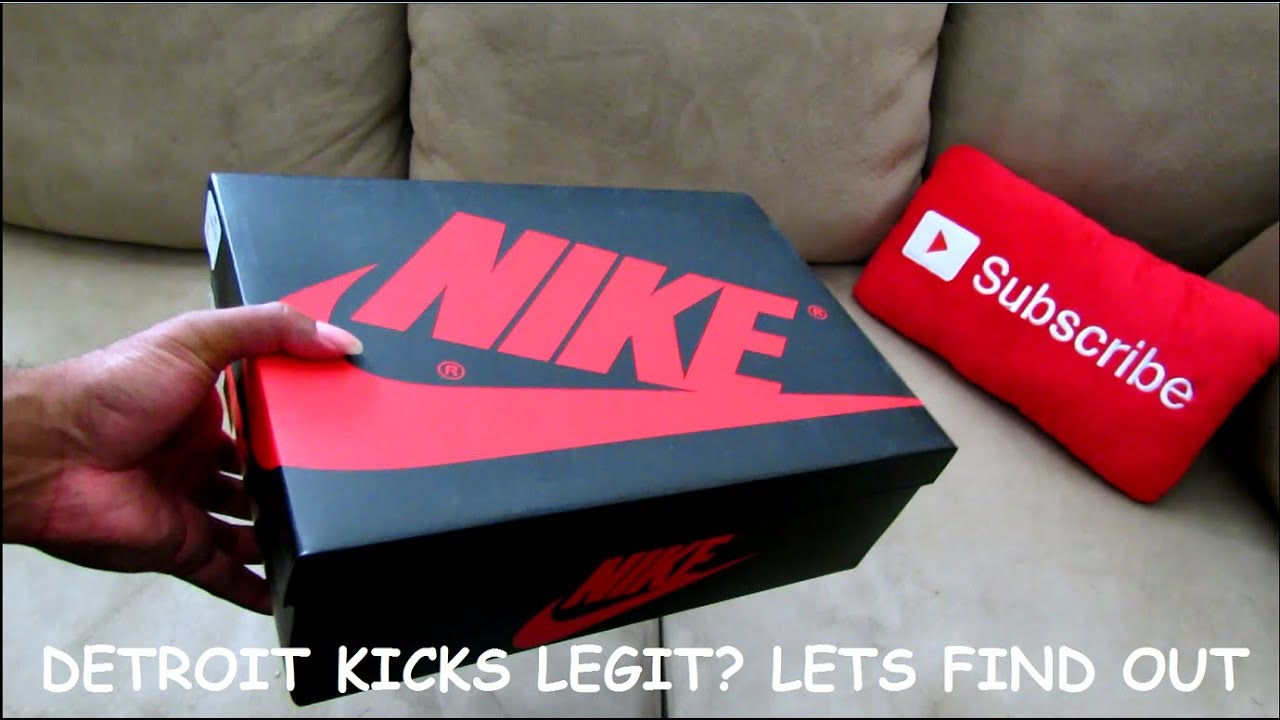 549d33f1bfb6 IS DETROIT KICKS LEGIT  REAL OR FAKE  - YouTube