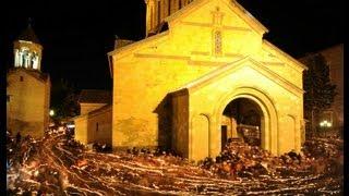 Грузинский распев - Христос Воскресе на грузинском(Христос Воскресе на грузинском. საქართველოს მართლმადიდებელი ეკლესია. это видео создано..., 2013-09-13T14:53:13.000Z)