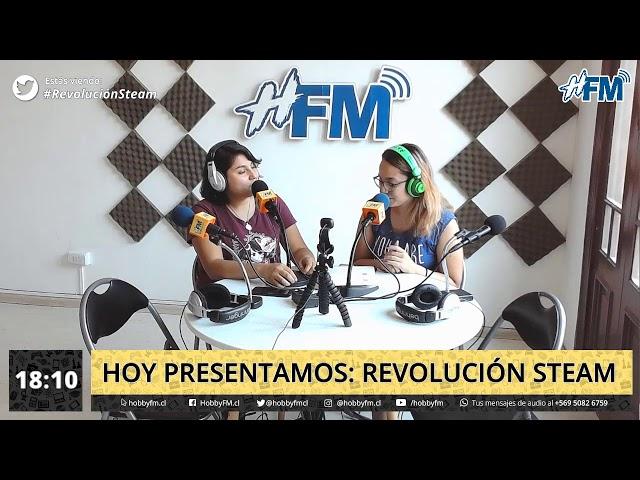 Revolución STEAM / Nosotras podemos - 05 de diciembre 2019