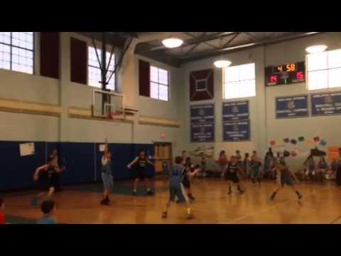 Ardena School vs. Adelphia School (Gavin court time)