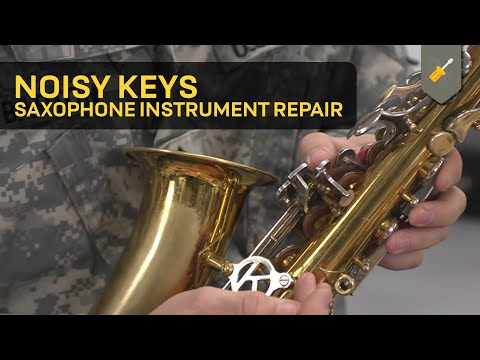 Noisy Keys: Saxophone Instrument Repair