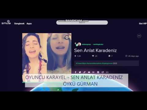 Öykü Gürman - Sen anlat karadeniz ( nida zeymep & mehtap kackal ) karaoke