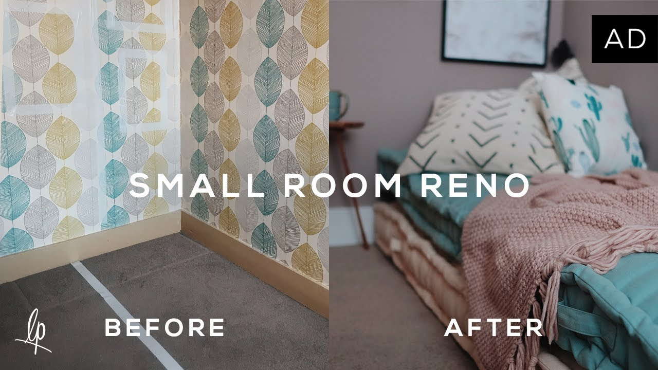 SMALL ROOM RENOVATION  BEFORE   AFTER   Lily Pebbles   YouTube SMALL ROOM RENOVATION  BEFORE   AFTER   Lily Pebbles