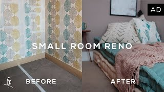connectYoutube - SMALL ROOM RENOVATION: BEFORE & AFTER | Lily Pebbles