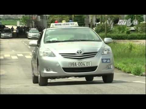 VTC14_Nhiều thí sinh thi trượt sát hạch lái xe