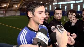 Impact De Montréal - Commentaires Entraînement / Comments Training 2012-02-01