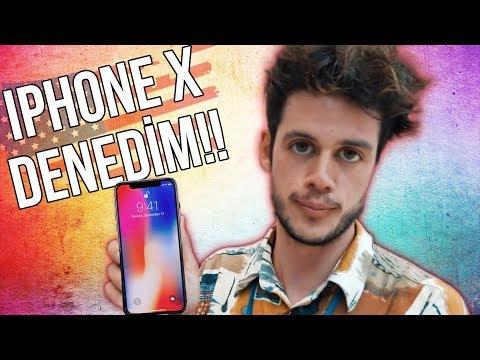 AMERİKA'DA YENİ IPHONE X'İ DENEDİM!
