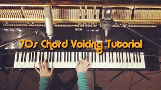 70s Chord Voicing Tutorial