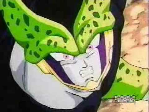 Gohan kills all the Cell Juniors