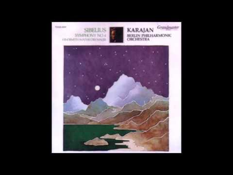 Sibelius - Symphony No.4  A Minor Op.63 Karajan  Berlin Philharmonic