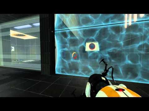 Portal 2 Cooperativo. Capitulo 3 - Masa y Velocidad 2-6