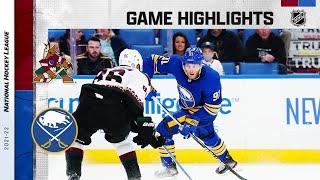 Coyotes @ Sabres 10/16/21 | NHL Highlights