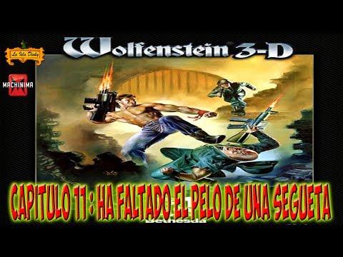 Wolfenstein 3D - Capitulo 11 - Ha faltado el pelo de una segueta - Nocturnal Missions - MSDOS - 1992