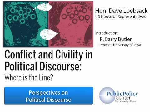 Hon. Dave Loebsack | Perspectives of Political Discourse