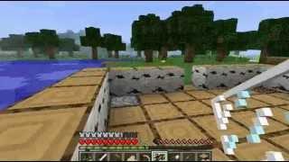 Minecraft - Приключение и обучение. Вот это дом!!! Part six.