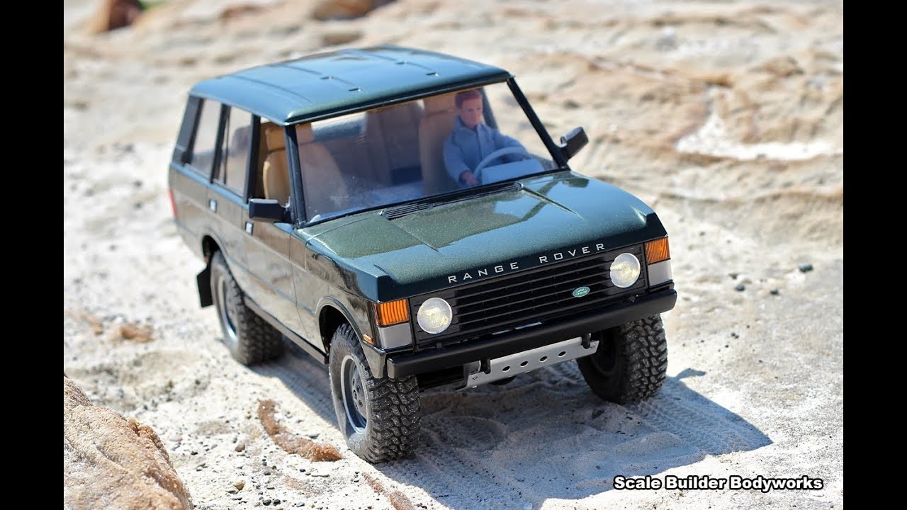 rc 4x4 scale range rover classic first off road test. Black Bedroom Furniture Sets. Home Design Ideas