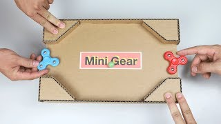 How Make Desktop Spinner Game Cardboard