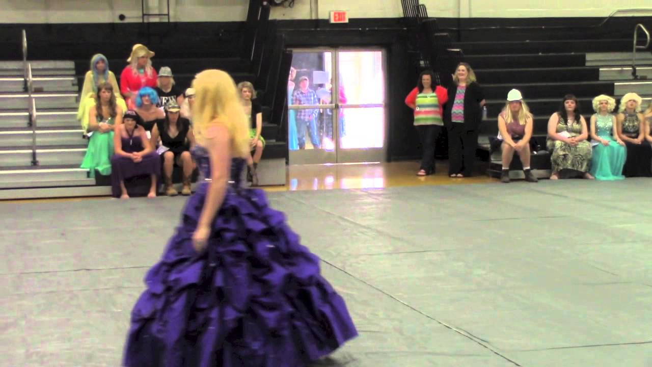 LHS Womanless Beauty Pageant 2014 - YouTube