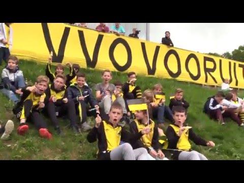 VVO 1 Kampioen 4e klasse F op 16 mei 2016