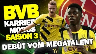 DEBÜT VOM STURM-MEGATALENT Gegen AUFSTEIGER 1. FC NÜRNBERG ♕ FIFA 17 KARRIEREMODUS BVB #34