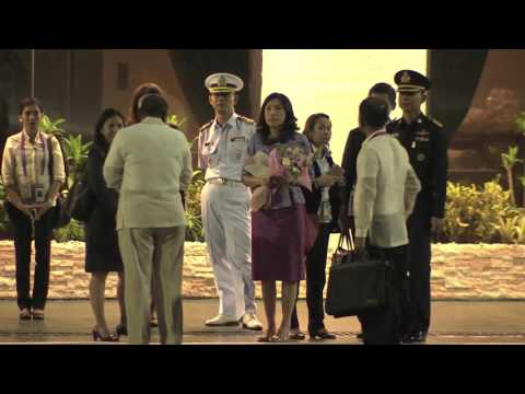 Arrival of Prime Minister Prayuth Chan-o-Cha of Thailand 11/17/2015