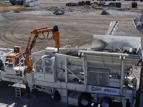 Cedarapids Crushers In Portable AMI Recycling System