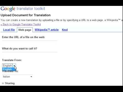 [SOLVED] Google Translator Toolkit problem