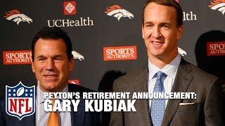 Gary Kubiak Shares Story about Peyton Manning