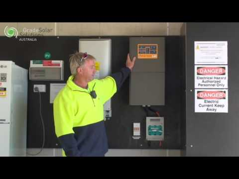 6 Kw Off Grid Solar Power System In Murchison Victoria