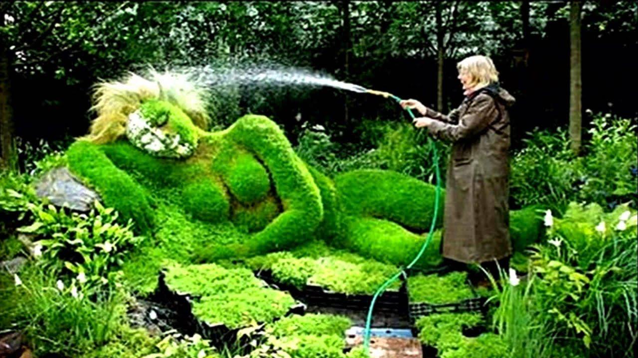 Amazing Art Topiary (HD1080p) - YouTube