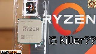 AMD Ryzen 5 1600X Review | The i5 Killer