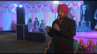 ANCHOR PROF.RANDHAWA -SHAAM -E -MEHFIL --FAMILY GET TO-GETHER - D A V COLLEGE AMRITSAR