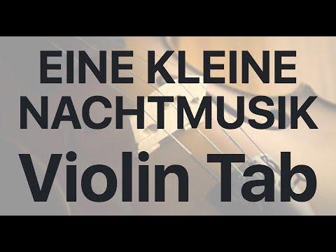 Learn EINE KLEINE NACHTMUSIK on Violin - How to Play Tutorial