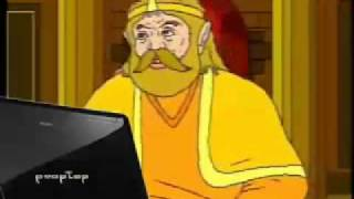 YouTube Poop : The King use Internet for search Dinner